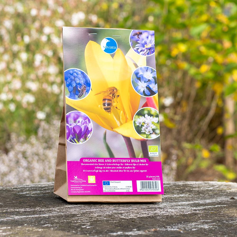 Blumenzwiebel-Mix Bienen & Schmetterlinge Bio - 35 Stück (BIO)