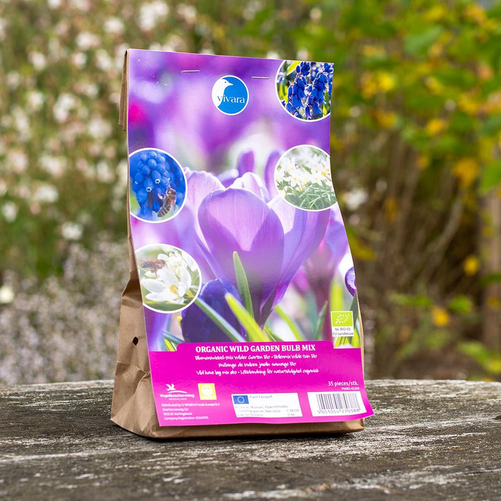 Blumenzwiebel-Mix Wilder Garten Bio - 35 Stück (BIO)