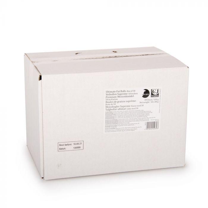 Karton mit 50 Premium-Meisenknödeln