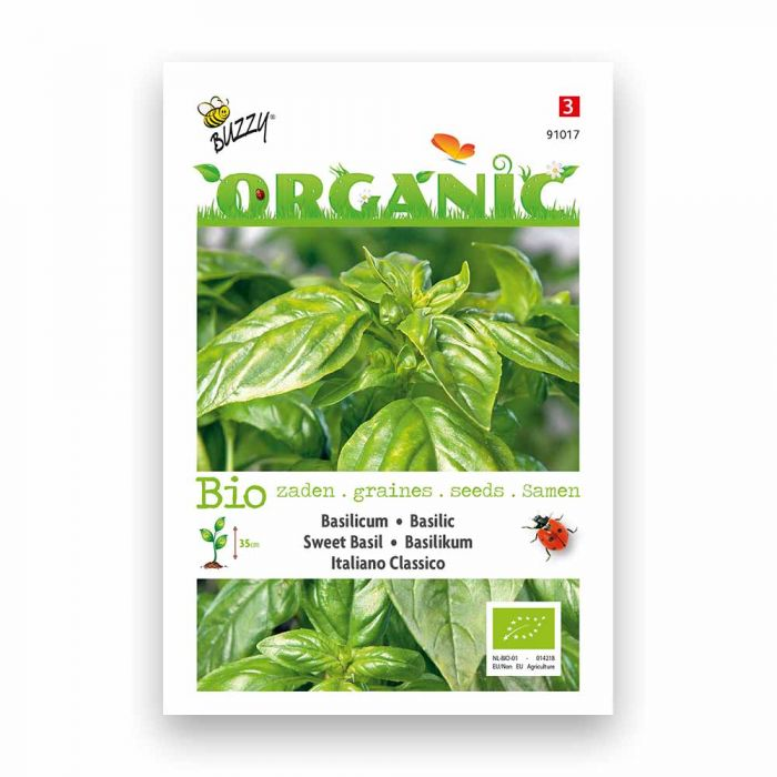 Buzzy® Organic Basilikum Italiano Classico