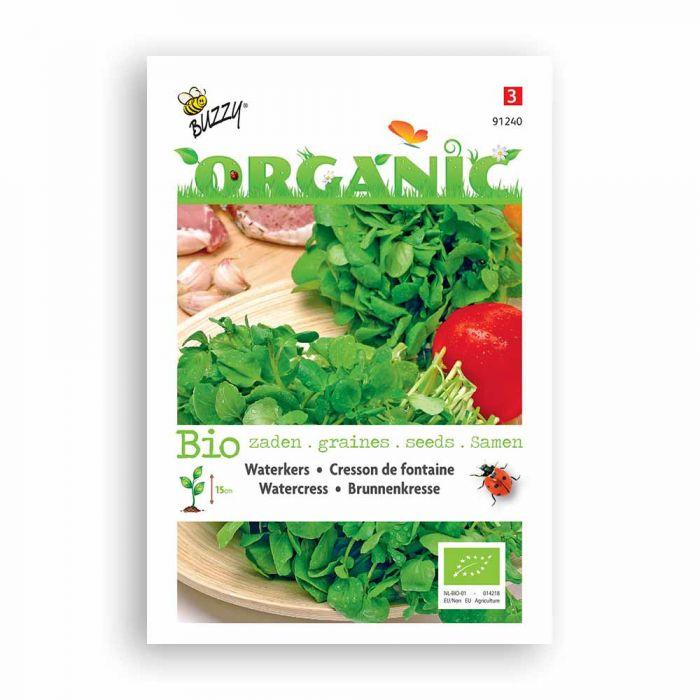 Buzzy® Organic Brunnenkresse (BIO)