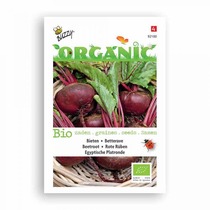 Buzzy® Organic Rote Rüben Ägyptis Plattrunde