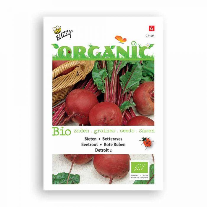 Buzzy® Organic Rote Rüben Detroit 2 (BIO)