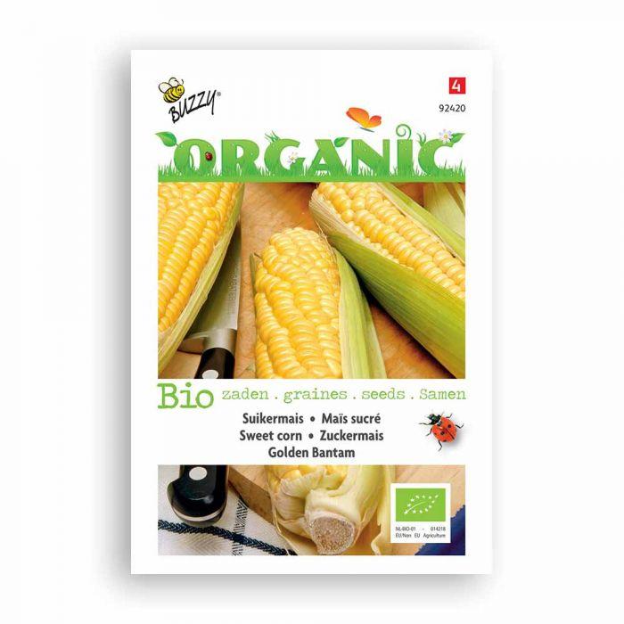 Buzzy® Organic Zuckermais Golden Bantam