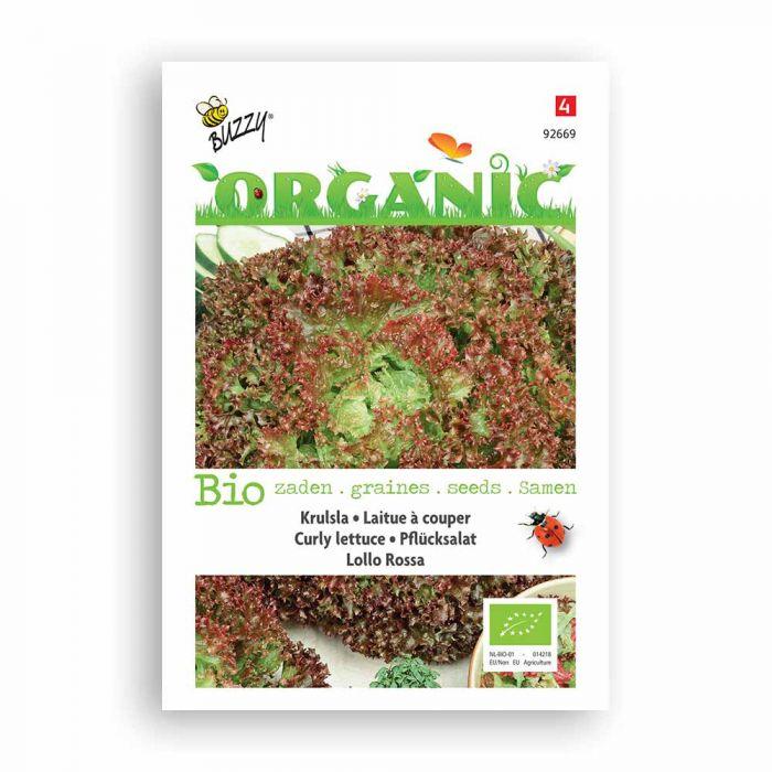 Buzzy® Organic Pflücksalat Lollo Rossa