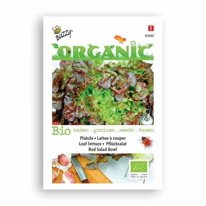 Buzzy® Organic Pflücksalat Red Salad Bowl