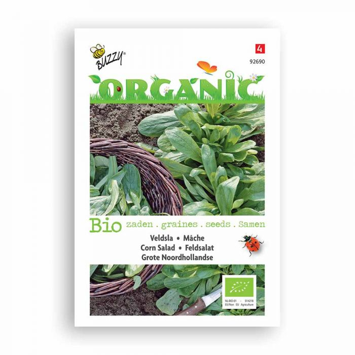Buzzy® Organic Feldsalat Hol breitblät