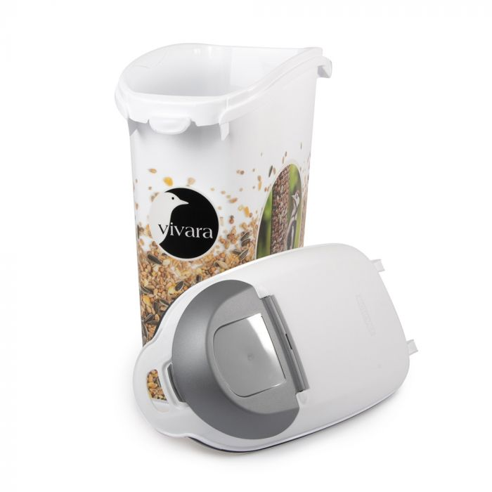 Vorratsbehälter für Vogelfutter