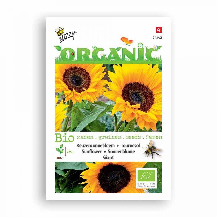 Buzzy® Organic Sonnenblume Riesen (BIO)