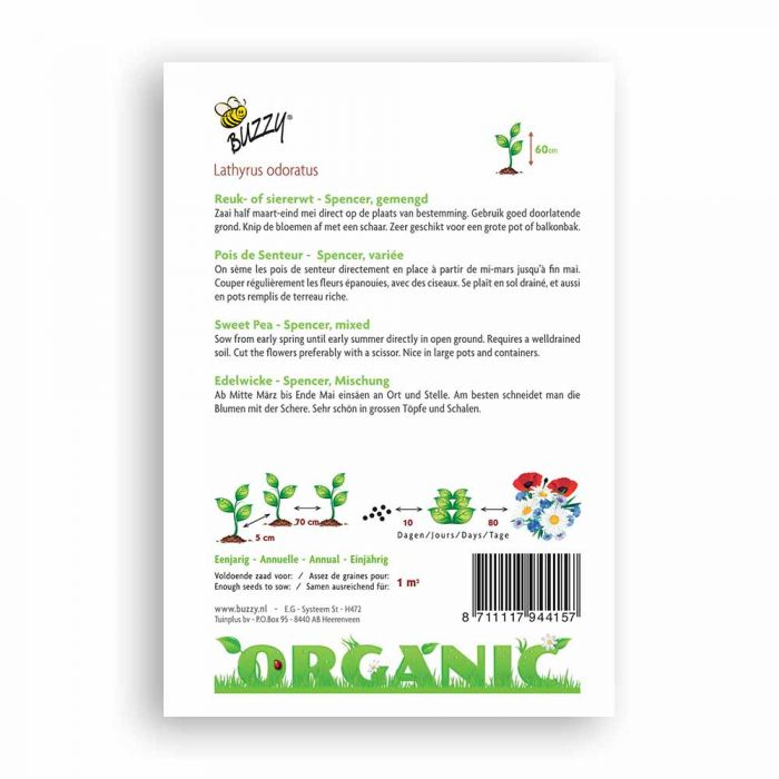 Buzzy® Organic Edelwicke Spencer Mischung (BIO)
