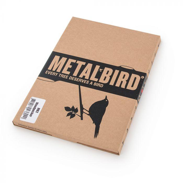 Metalbird Buntspecht aus Metall