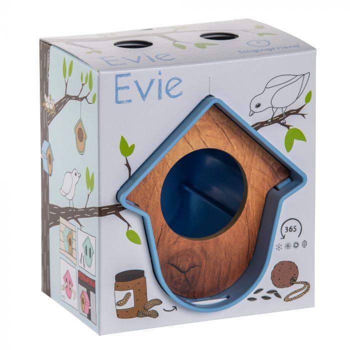 """SingingFriend Erdnussbutterglas-Halter """"Evie"""" Blau"""