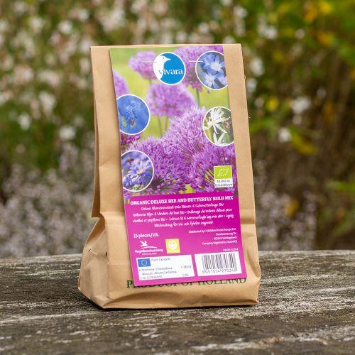 Deluxe Blumenzwiebel-Mix Bienen & Schmetterlinge Bio - 15 Stück (BIO)