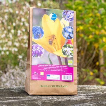 Blumenzwiebel-Mix Bienen & Schmetterlinge Bio - 100 Stück (BIO)