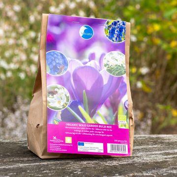 Blumenzwiebel-Mix Wilder Garten Bio - 100 Stück (BIO)