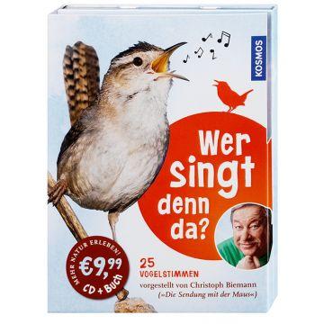 Wer singt denn da? Vogelstimmen-CD + Buch