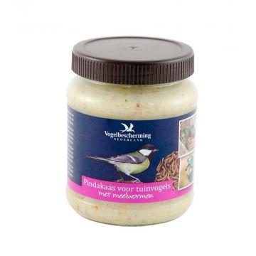Erdnussbutter mit Mehlwürmern