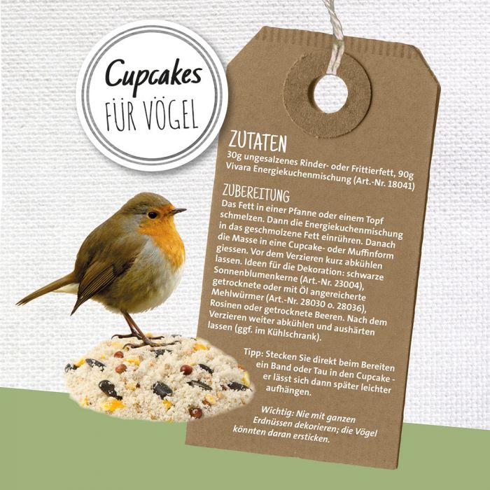 Cupcakes für Vögel