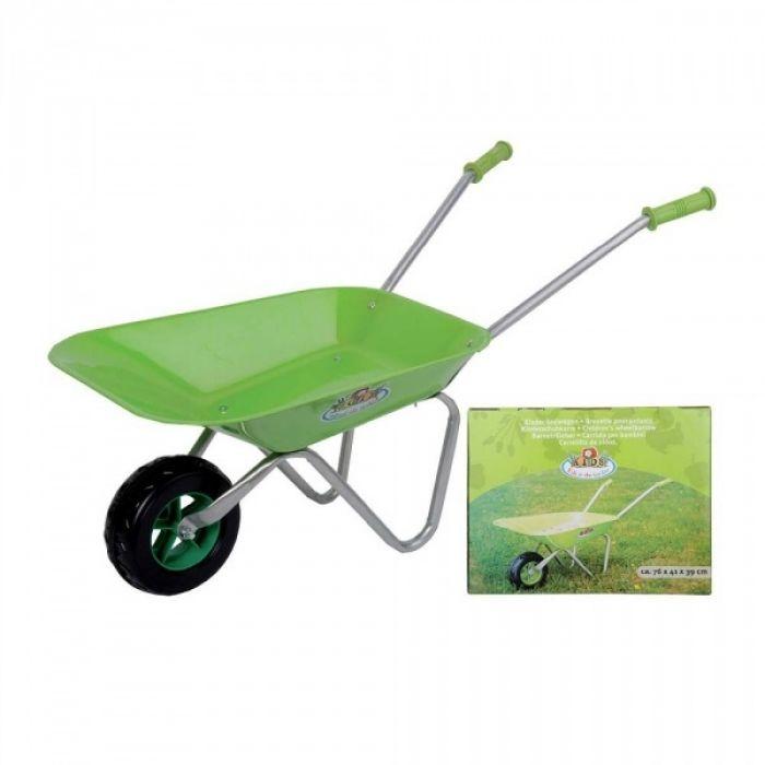 Kinder-Schubkarre grün