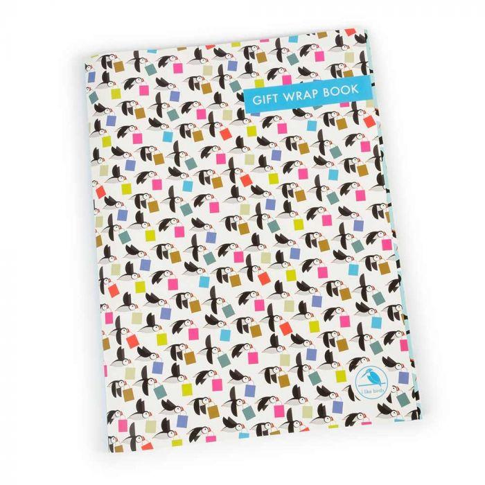 Papageitaucher-Geschenkpapier-Set