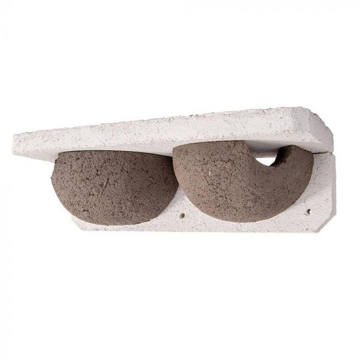 WoodStone Mehlschwalbennest Doppelt