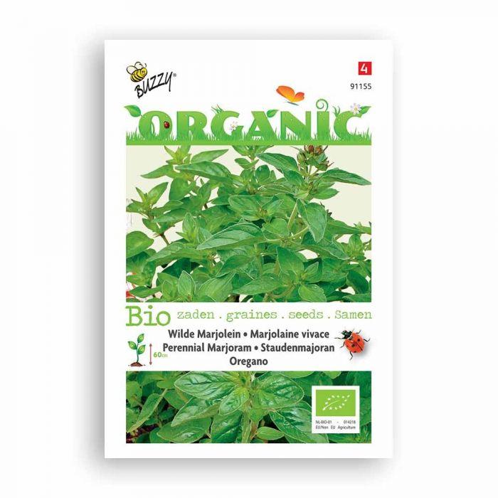 Buzzy® Organic Staudenmajoran-Dost (BIO)
