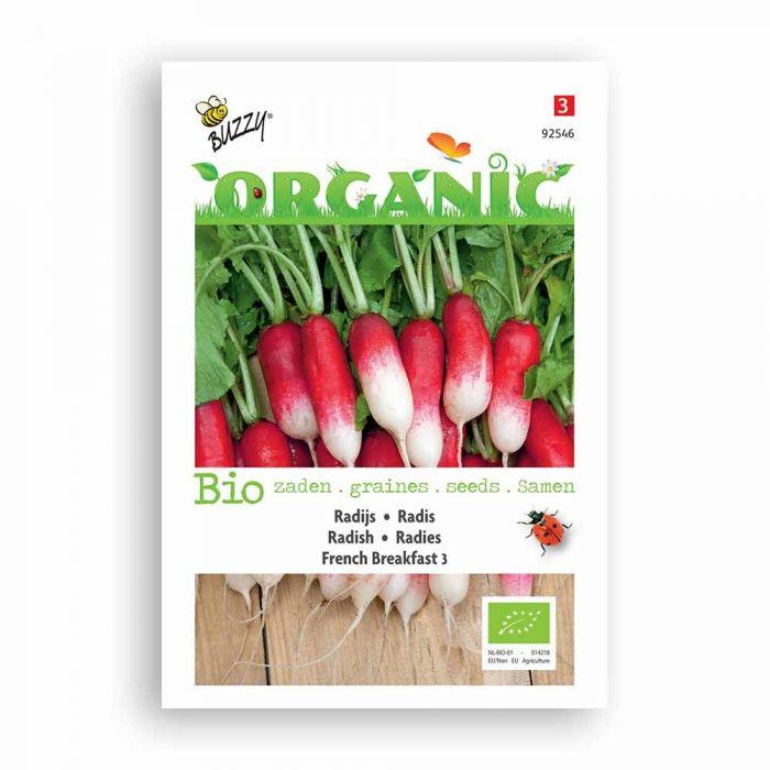 Buzzy® Organic Radieschen French Breakfast