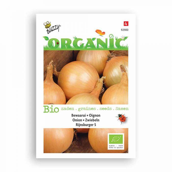 Buzzy® Organic Zwiebel Rijnsburger 5 (BIO)