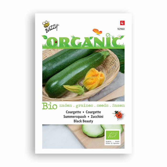 Buzzy® Organic Zucchini Black Beauty (BIO)