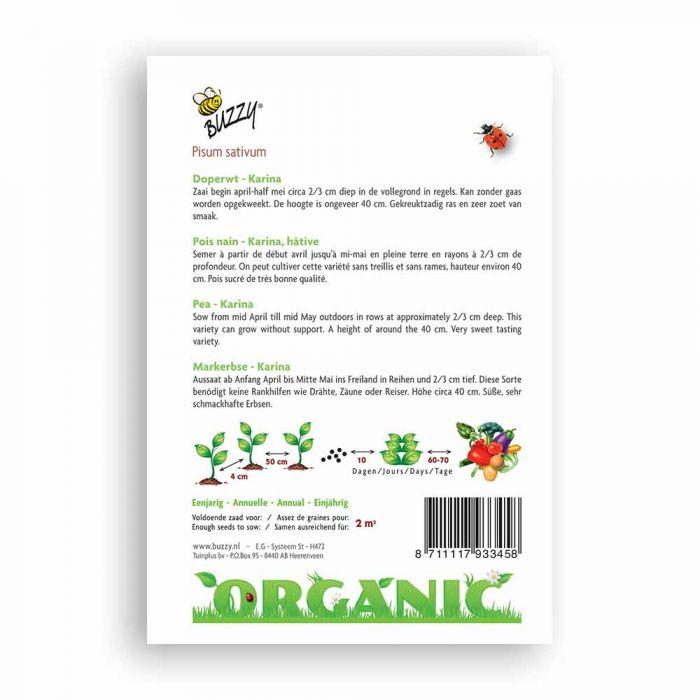 Buzzy® Organic Markerbse Karina(BIO)