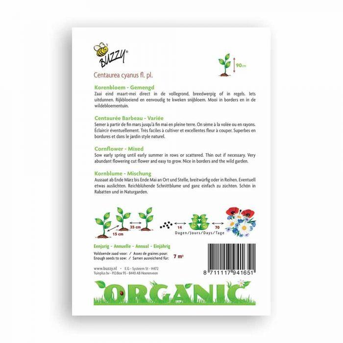 Buzzy® Organic Kornblume Mischung(BIO)