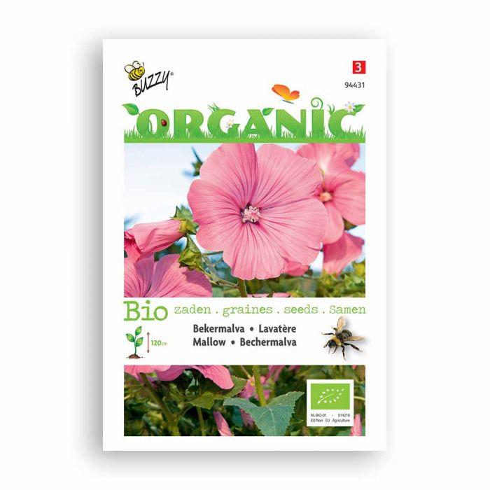 Buzzy® Organic Bechermalva rose/rot (BIO)