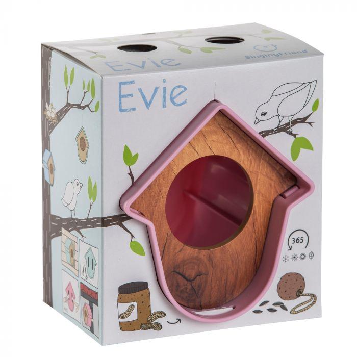 """SingingFriend Erdnussbutterglas-Halter """"Evie"""" Rosa"""