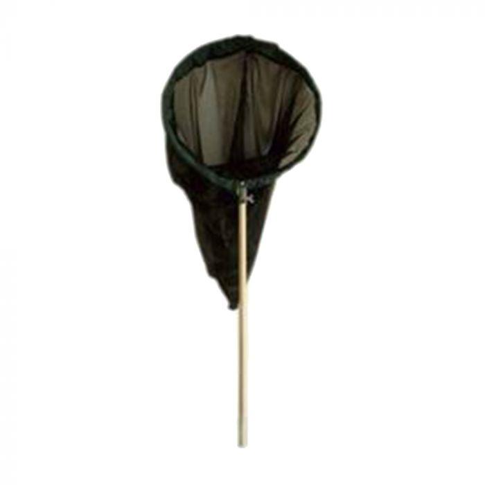 Schmetterlingsnetz schwarz 30 cm - aufklappbarer Bügel