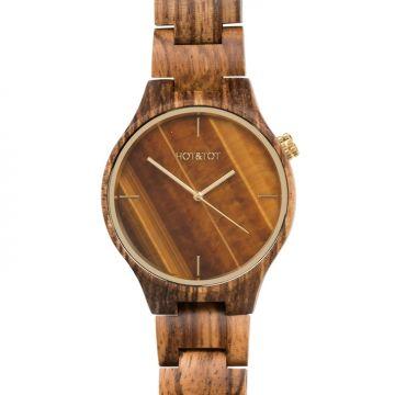 """Holz-Armbanduhr """"Tigano"""""""