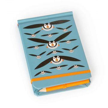 Papageitaucher-Notizbuch