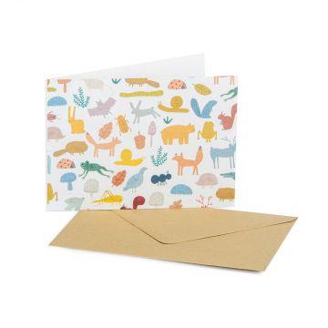 Grußkarte Waldtiere – Goodness Gang