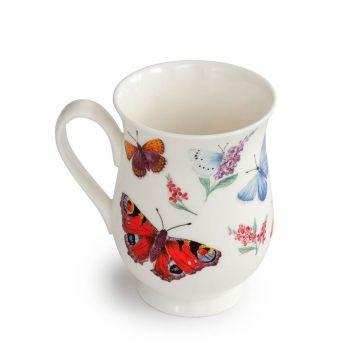 Tasse mit Schmetterlingen (Roy Kirkham)