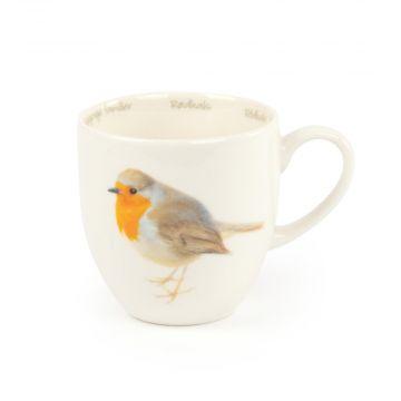 Tasse Rotkehlchen (Elwin van der Kolk)