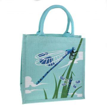 """Jute-Einkaufstasche """"Libellen"""""""