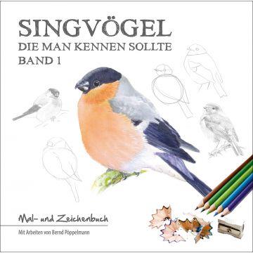 Singvögel die man kennen sollte, Malbuch, Band 1
