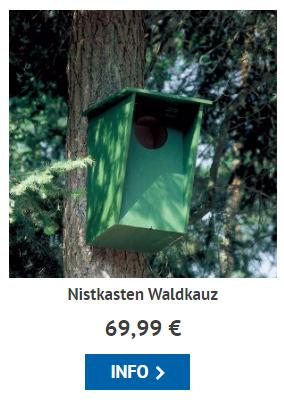 Zum Waldkauz-Nistkasten